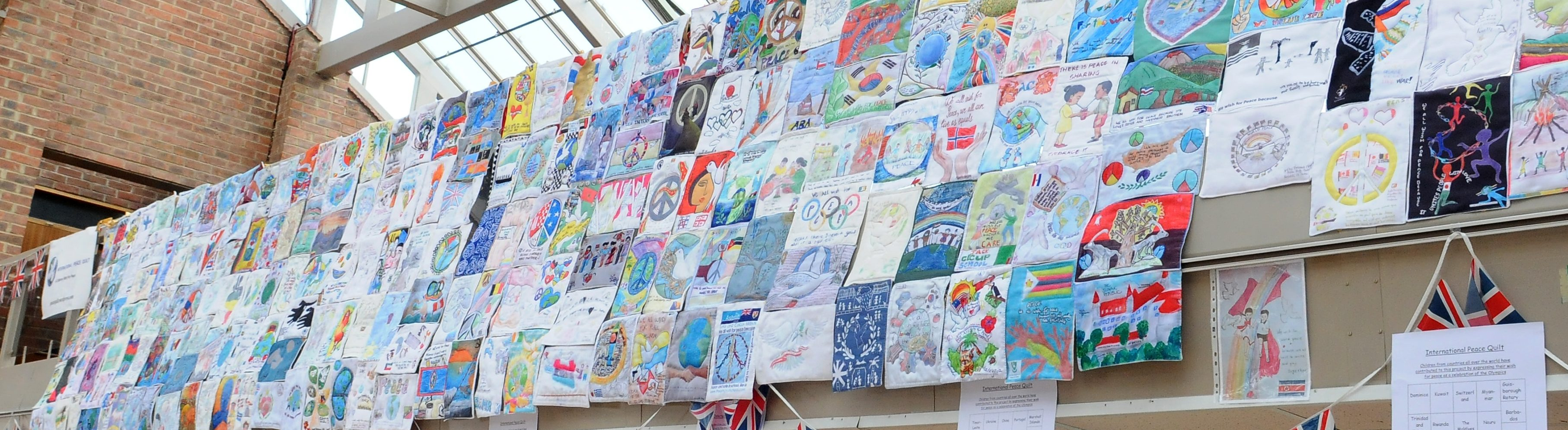 Schools' International Peace Quilt