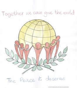 Together we can give the world the peace it deserves