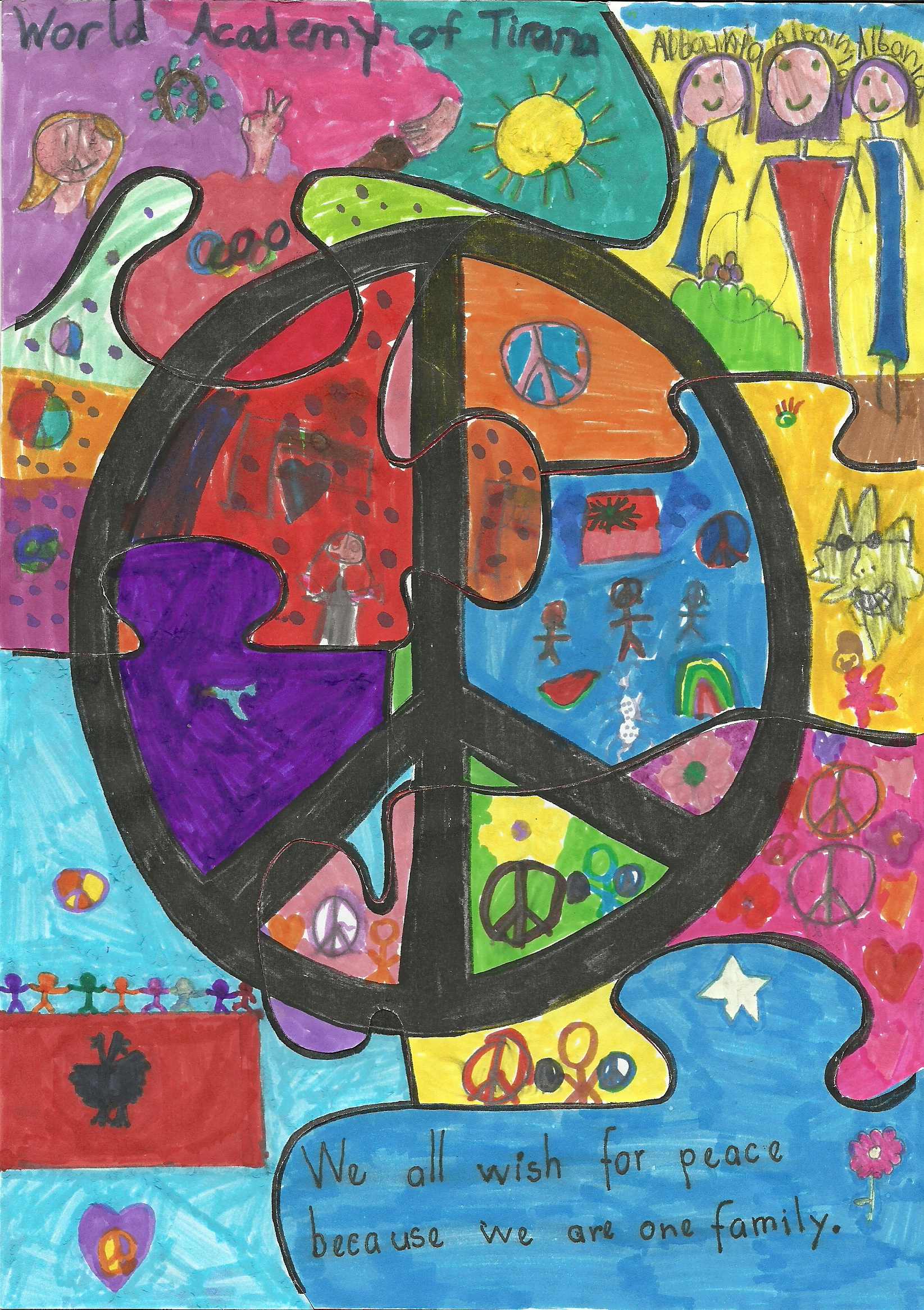 Europe Page 8 Schools International Peace Quilt