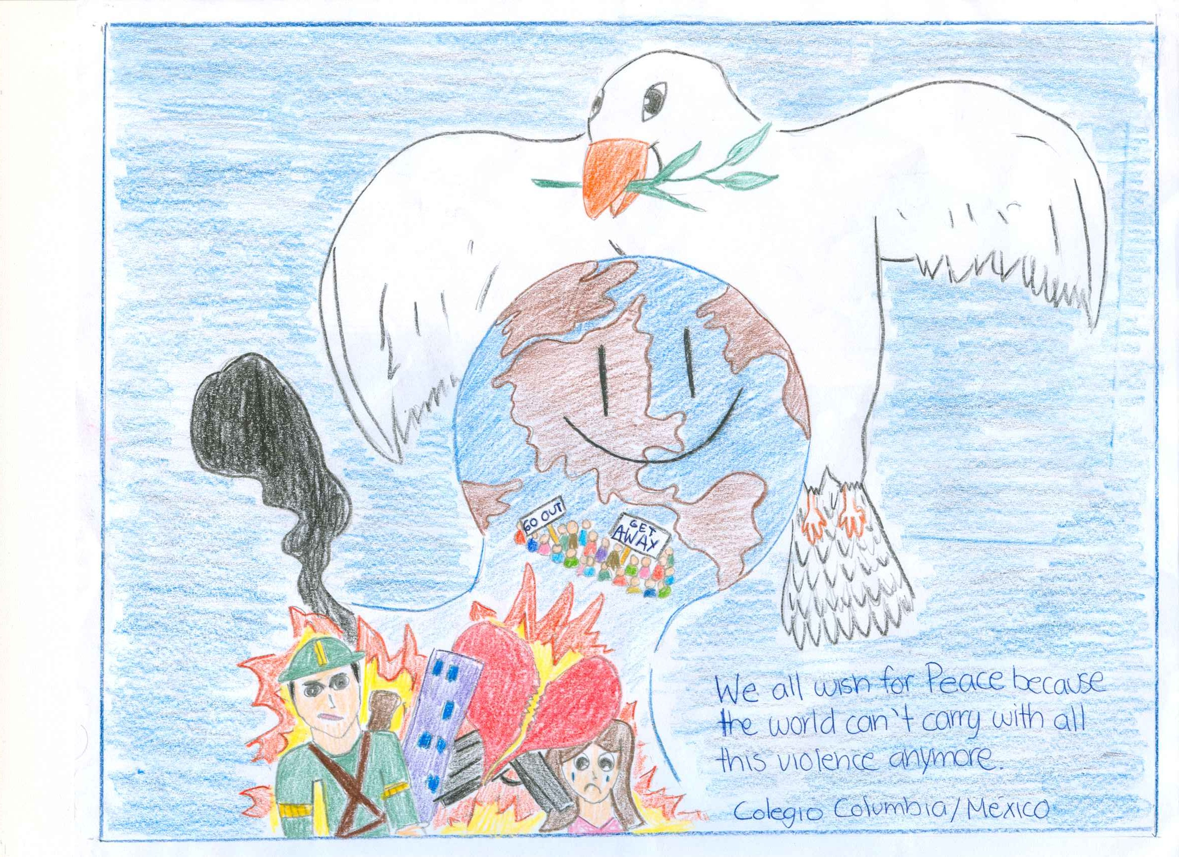 schools u0027 international peace quilt childrens voice for peace