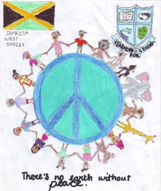 IB Peace Quilt Submission by Ashley Chang Pong