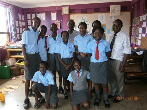 Uganda Art Students