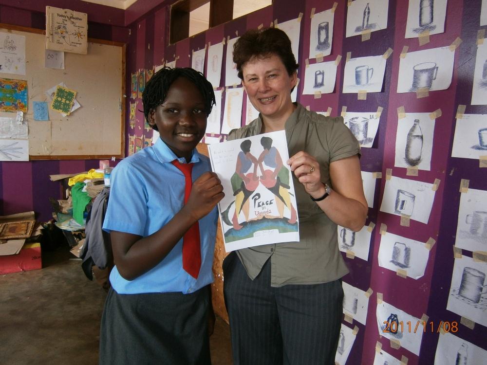 Schools' International Peace Quilt Team