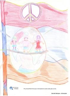 Armenia Peace quilt