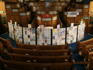 Guisborough Methodist Display