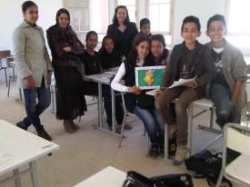 Tunisia art students
