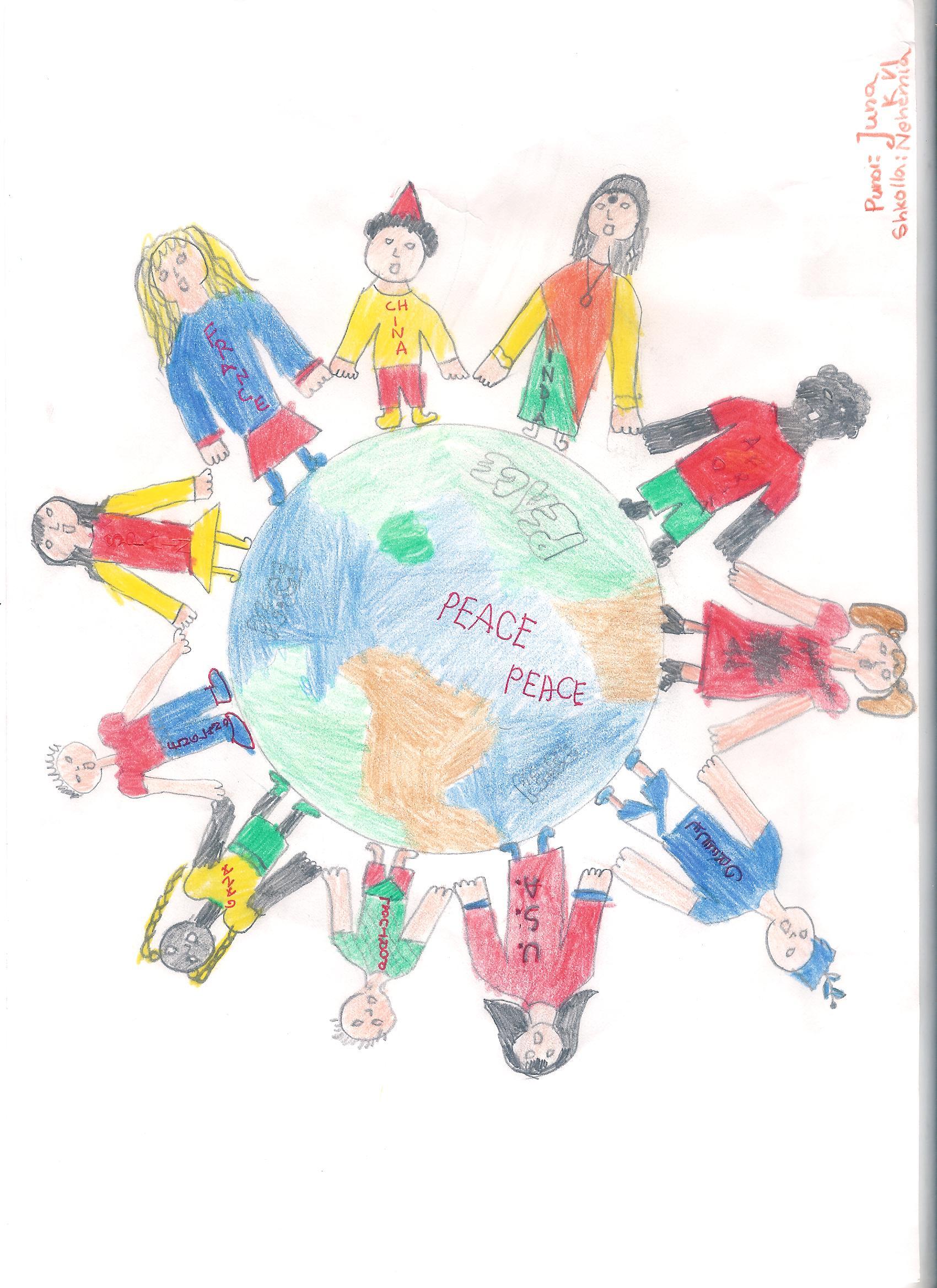 World Peace Drawings