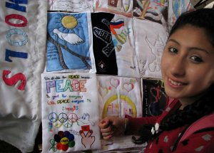 "Comercial Nº 11 ""Dr. José Peralta"" School Argentina and Carla Palermo artist - 2013"