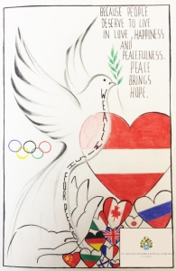 Diana St Gilgen International School Peace Quilt 2016