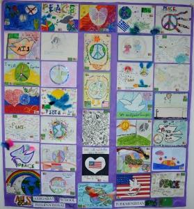 Spread Peace  by the Children of Turkmenistan