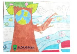 2016 Dominican Republic St. Patrick School peace quilt project - 2-2